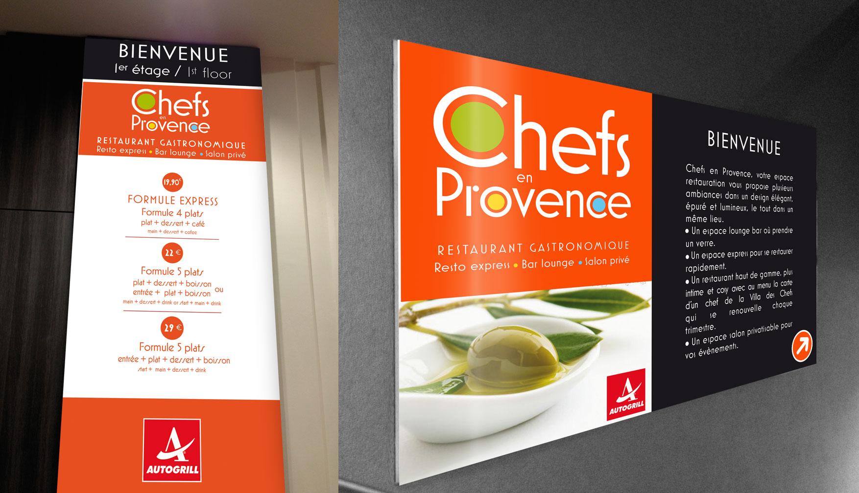 Chefs en Provence – Autogrill